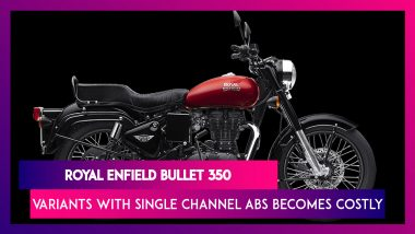 Royal Enfield Bullet 350 Kick Start & Electric Start Variants Becomes Costly; Check India Prices