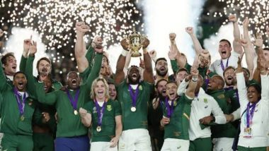 South Africa Beats England by 32-12 During Rugby World Cup Final 2019; Twitterati Hails the Winning Team