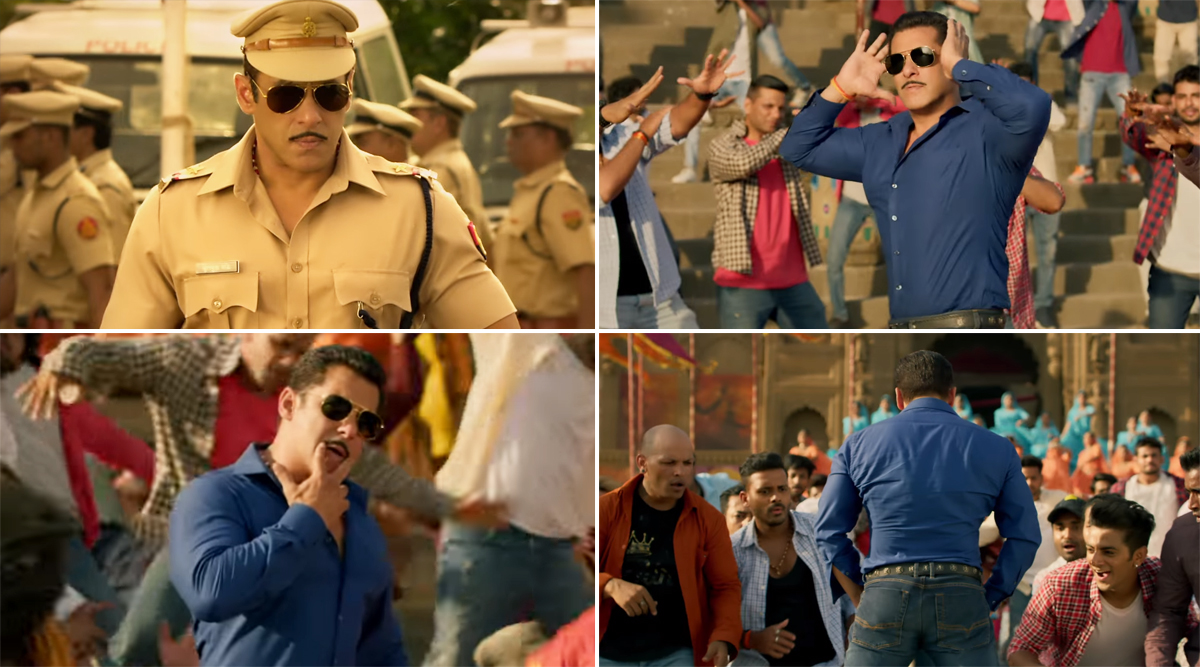 Dabangg 3 Song Hud Hud: Forget Salman Khan's Towel Step, His Butt Flexing Will Be The New Rage (Watch Video)