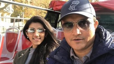 Sourav Ganguly Hilariously Trolls Daughter Sana Over a Picture on Instagram (See Pic)