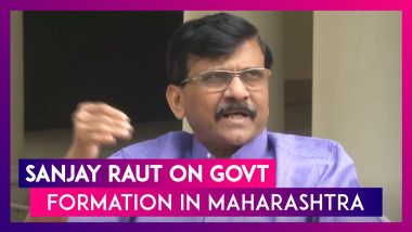 'We Will Form The Government In Maharashtra Before December 01': Sanjay Raut, Shiv Sena Leader