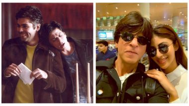 Shah Rukh Khan Gets Birthday Wishes From Bollywood; Karan Johar, Mouni Roy, Ayushmann Khurrana Pour Their Heart Out for King Khan