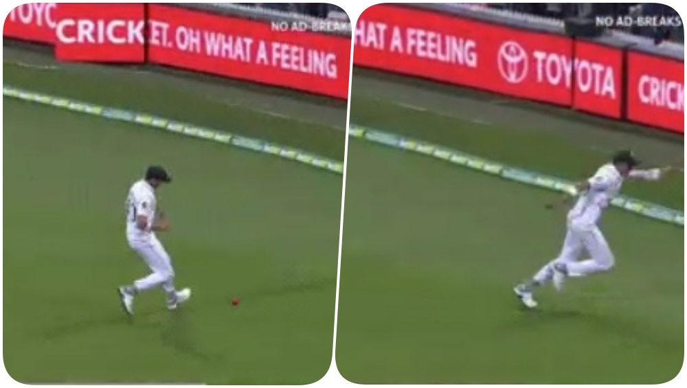 Shaheen Afridi Accidently Kicks the Ball to the Boundary While Trying to Save Runs During Australia vs Pakistan, 2nd Test 2019 (Watch Video)