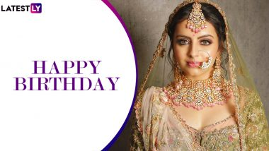 Shrenu Parikh Birthday Special: 10 Unmissable Bridal Pictures Of The Ishqbaaz Actress