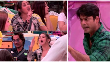 Bigg Boss 13: Sidharth Shukla Tells Rashami Desai 'Mereko Teri Saari Asliyat Malum Hai' As They Fight Over Kitchen Duties Yet Again (Watch Video