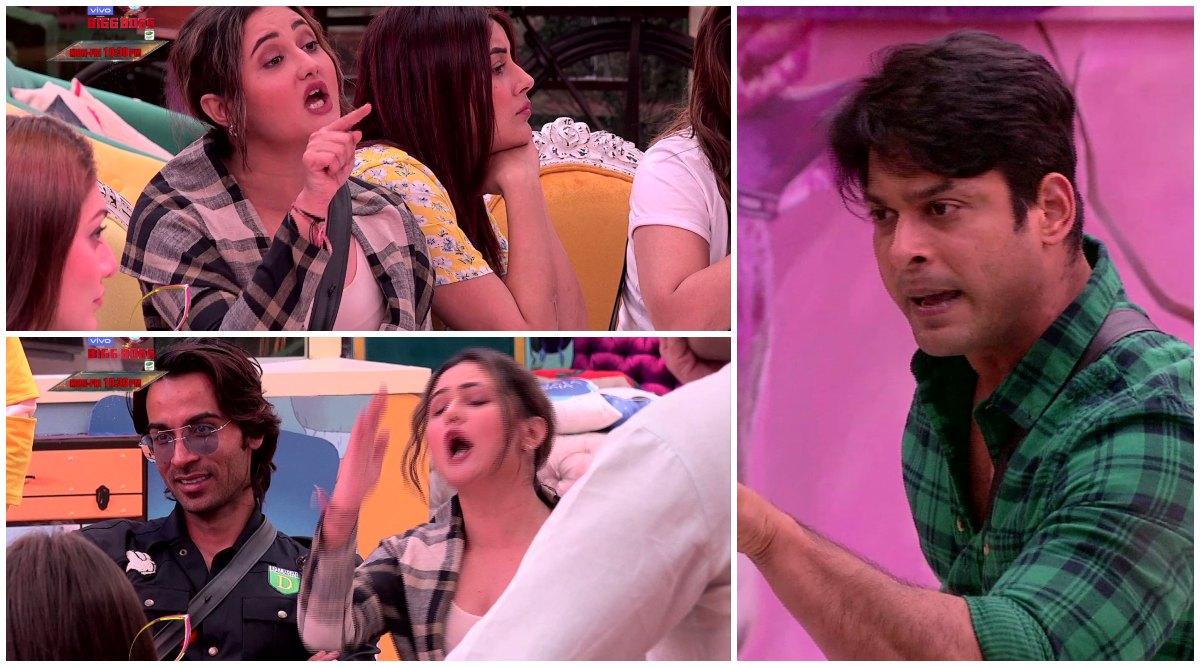 Bigg Boss 13: Sidharth Shukla Tells Rashami Desai 'Mereko Teri Saari Asliyat Malum Hai' As They Fight Over Kitchen Duties Yet Again (Watch Video