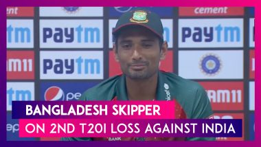 India vs Bangladesh 2nd T20I: Team Needs To Work On Mistakes: Mahmudullah Riyad, Bangladesh Skipper