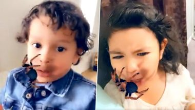 Parents Are Using Creepy Spider Snapchat Filter on Their Kids and They Are Terrified! Twitterati Is Furious (Watch Viral Videos)