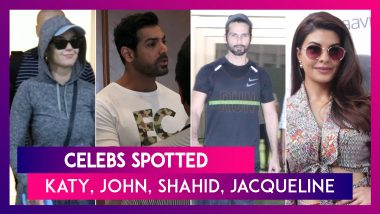 Katy Perry, John Abraham, Shahid Kapoor & Others Seen In The City | Celebs Spotted
