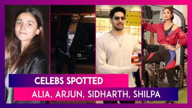 Alia Bhatt, Arjun Kapoor, Sidharth Malhotra And Others Seen In The City I Celebs Spotted