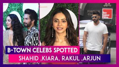 Shahid Kapoor, Kiara Advani, Arjun Kapoor, Rakul Preet Singh & Other Celebs Spotted