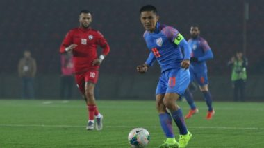 Seminlen Doungel Late Goal Helps India Enter 1-1 Draw Against Afghanistan in the FIFA 2022 World Cup Qualifier Match