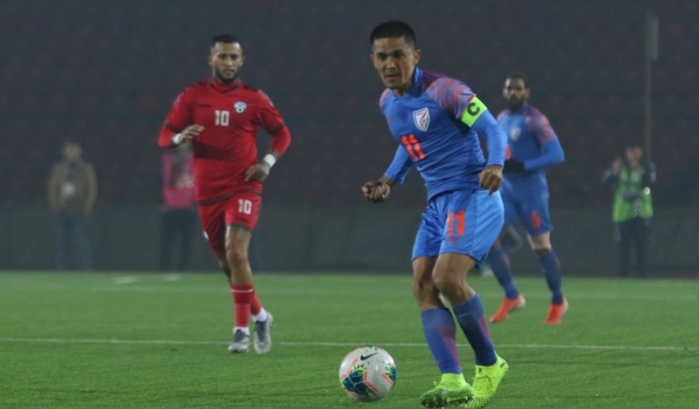 Seiminlen Doungel's Late Goal Helps India Salvage a Point Against Afghanistan in FIFA 2022 World Cup Qualifier Match