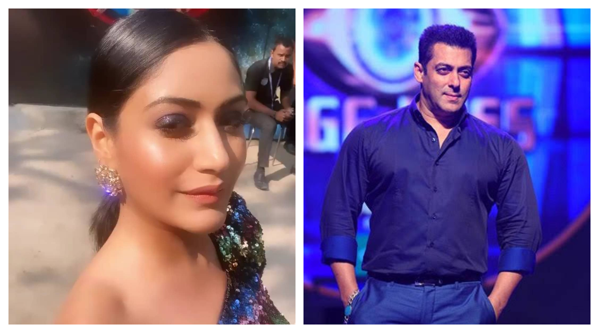 Bigg Boss 13: Surbhi Chandna Spotted on the Sets of Salman Khan's Show (See Pic)