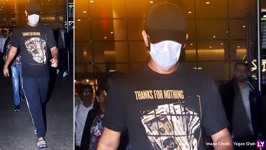 Sushant Singh Rajput Wears A Mask At The Airport To Go Unnoticed - Here's Why