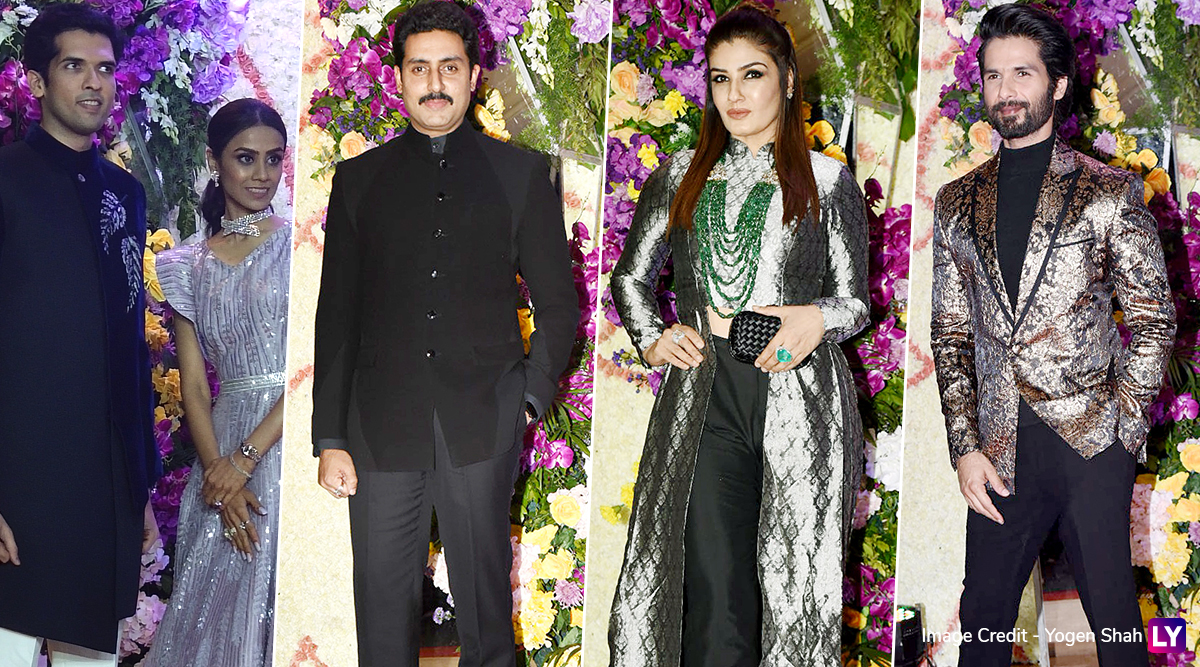 Sooraj Barjatya's Son Devansh Marries Nandini; Shahid Kapoor, Abhishek Bachchan, Raveena Tandon Attend The 'Vivaah' (See Pics)