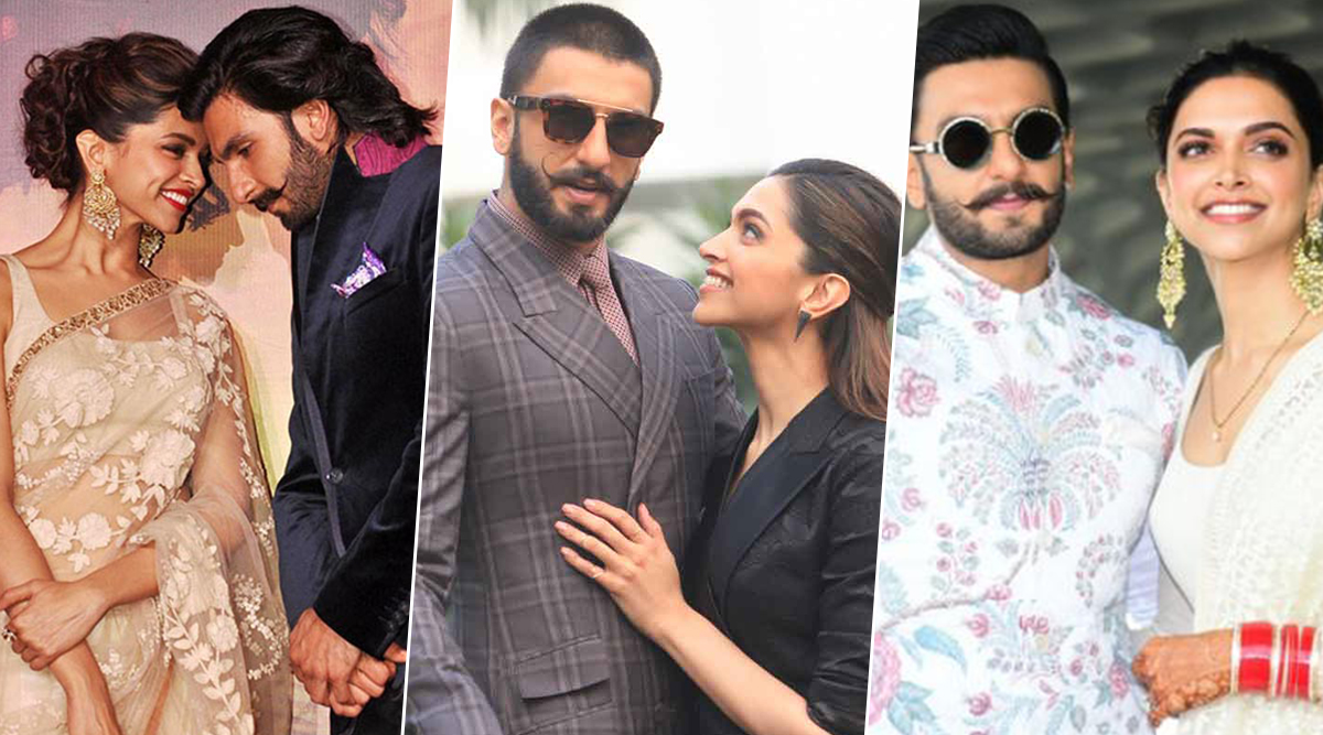 Ranveer - Deepika First Wedding Anniversary: 10 Adorable Pictures of this Gorgeous Couple that Prove True Love Never Dies