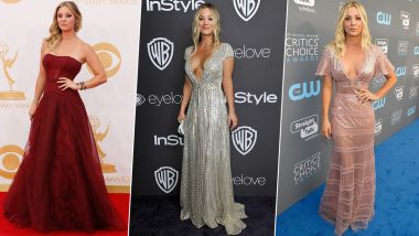 Kaley Cuoco Birthday: From Sexy to Shimmery, Here's a Look at the Best Red Carpet Gems from The Big Bang Theory Babe's High-End Closet (View Pics)