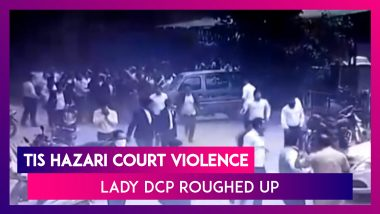 Tis Hazari Court Violence: Lady DCP Roughed Up In Clash Between Delhi Cops And Lawyers
