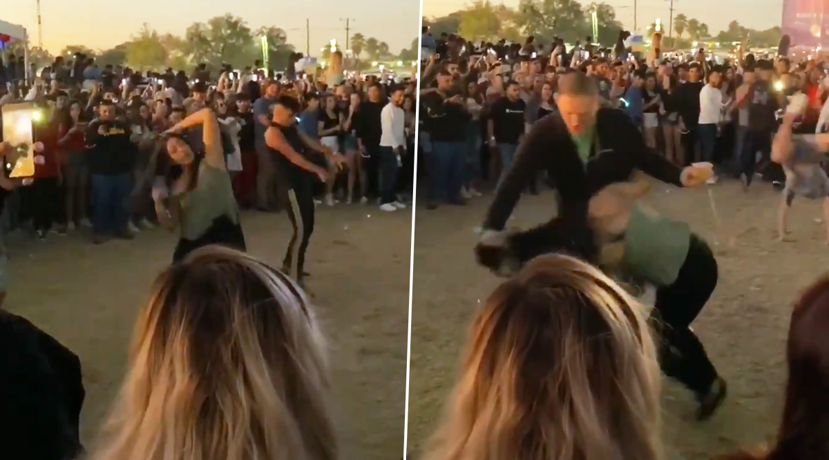 Man Drags Woman by Hair and Yells at Her for Twerking in Crowded Dance Circle at Texas' Mala Luna Music Festival, Dramatic Video Goes Viral