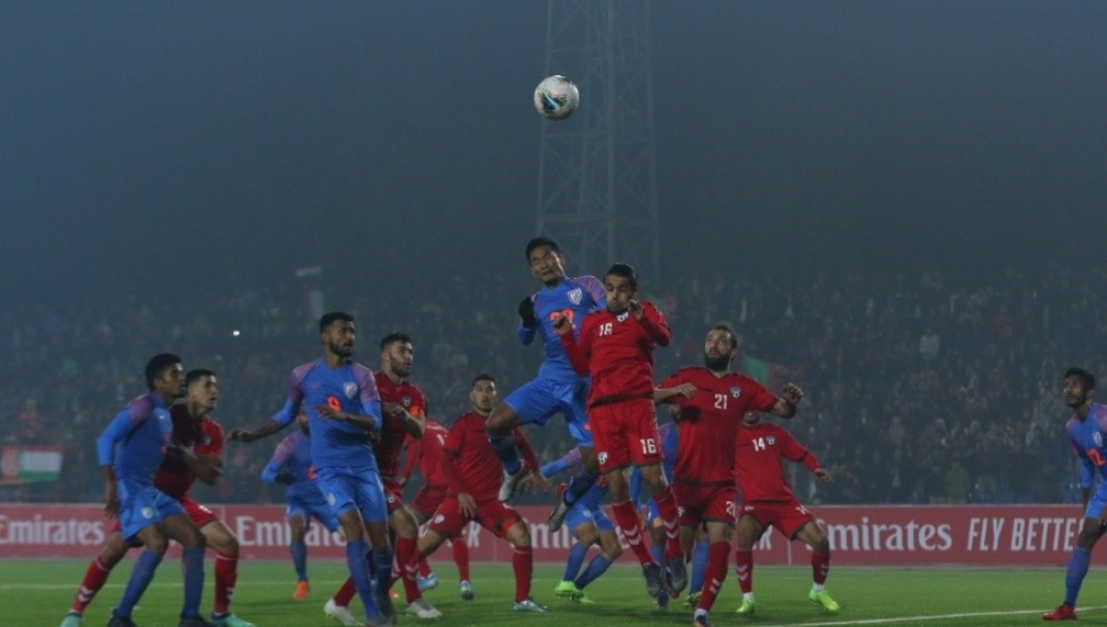 Sunil Chhetri & Men Held to 1-1 Draw By Afghanistan During FIFA 2022 World Cup Qualifiers; Evokes Mixed Reactions from Netizens