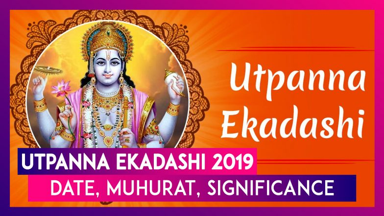 Utpanna Ekadashi 2019: Date, Significance, Muhurat, Vidhi Of The Auspicious Day