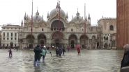 Venice Floods: Waves in St Mark's Square Lead to Emergency Alert As the Italian City Is Hit by Highest Tides in 50 Years (Watch Video)