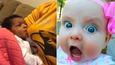 Father Breastfeeds Baby in Absence of Mother, Hack Video Cracks Up the Internet!