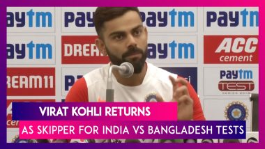 Virat Kohli Says He Is Very Excited About Day-Night Test Format | India Vs Bangladesh