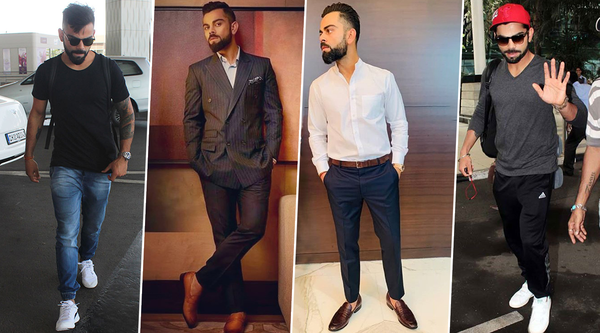 Virat Kohli Birthday Special: The Indian Skipper has an Uber Cool Wardrobe and We are all Hearts for it (View Pics)