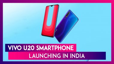 Vivo U20 Launching In India On November 22; Key Specifications & Features Revealed On Amazon