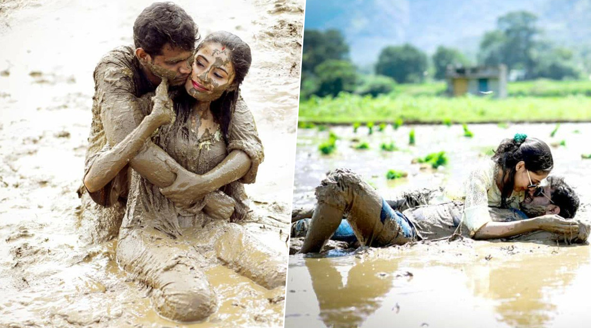 Couple's 'Dirty' Photoshoot in Mud Goes Viral, Netizens Question If Its a Pre or Post Wedding Shoot! See Viral Pics (New)