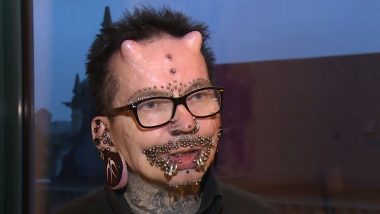 'World's Most Pierced Man' With Devil Horns Rolf Buchholz Goes Viral Again in 2019 (See Pics and Videos)