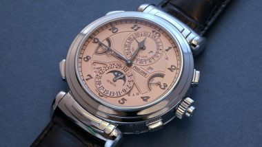 Patek Philippe's Grandmaster Chime Becomes World's Most Expensive Watch After Being Sold for Over $31 Million at Switzerland's Charity Auction (Watch Video)