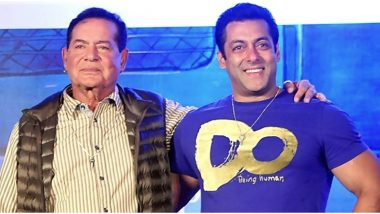 Salman Khan Has the Sweetest Birthday Wish for Father Salim Khan - View Pic