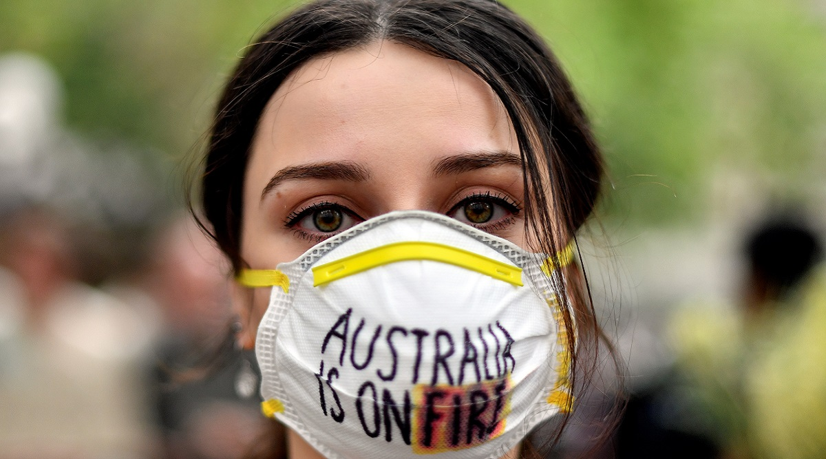 Australians Protest as Bushfire Smoke Chokes Sydney, Sparks Health Fears