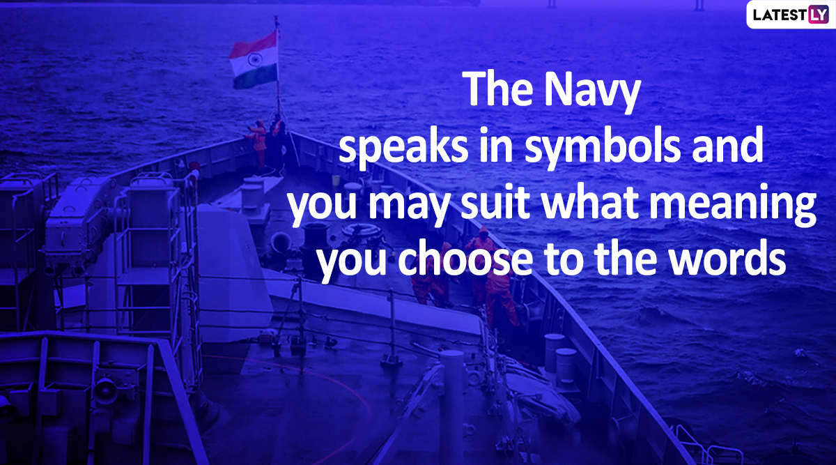 Indian Navy Day 2019: WhatsApp Stickers, Quotes, SMS and Messages for the Day That Honours Country's Naval Forces