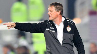 Oman Football Association Fire National Team's Head Coach Erwin Koeman