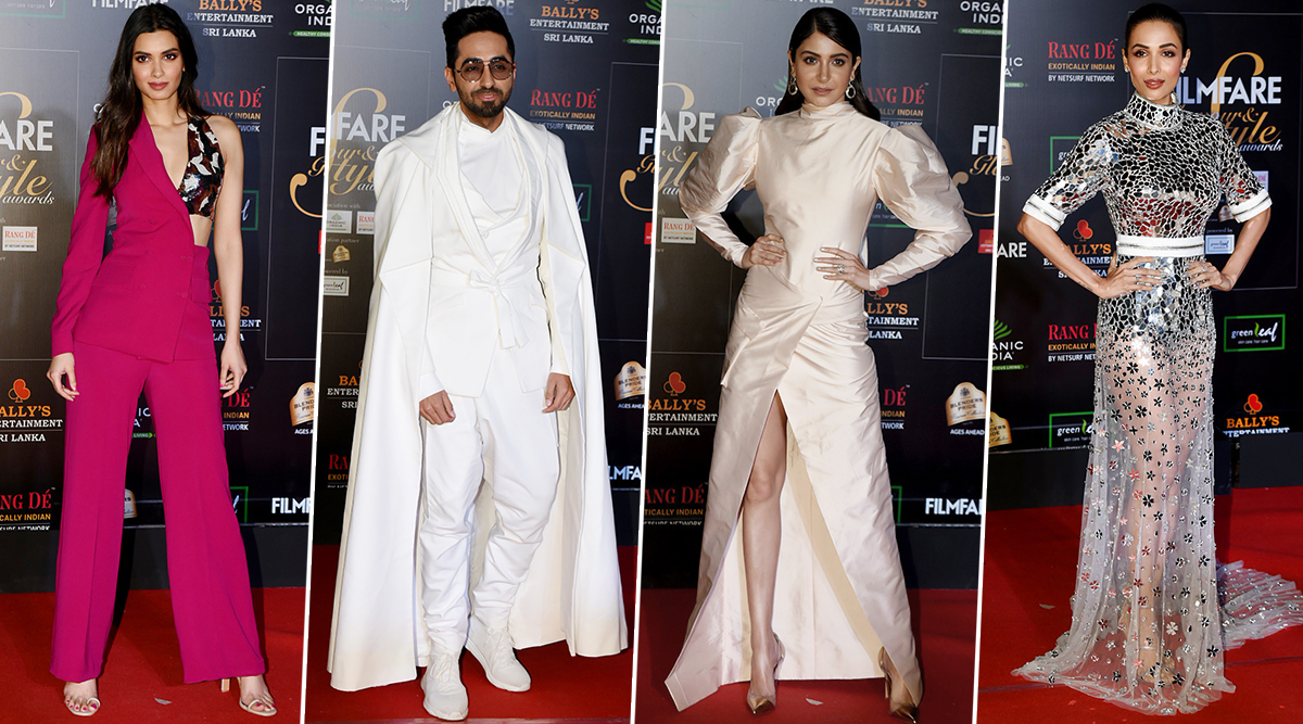 Filmfare Glamour and Style Awards 2019 Best Dressed: Anushka Sharma, Ayushmann Khurrana and Diana Penty Rule our Hearts (View Pics)