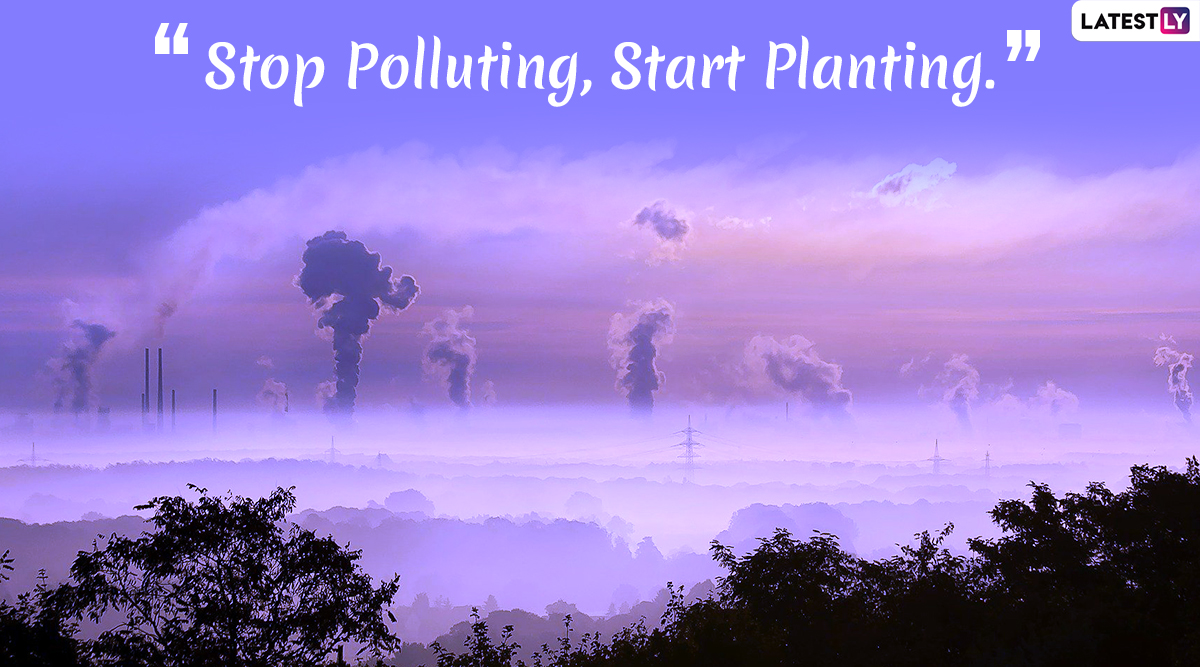 National Pollution Control Day 2019 Quotes: Slogans on Raising Awareness About Controlling Pollution And Its Causing Agents