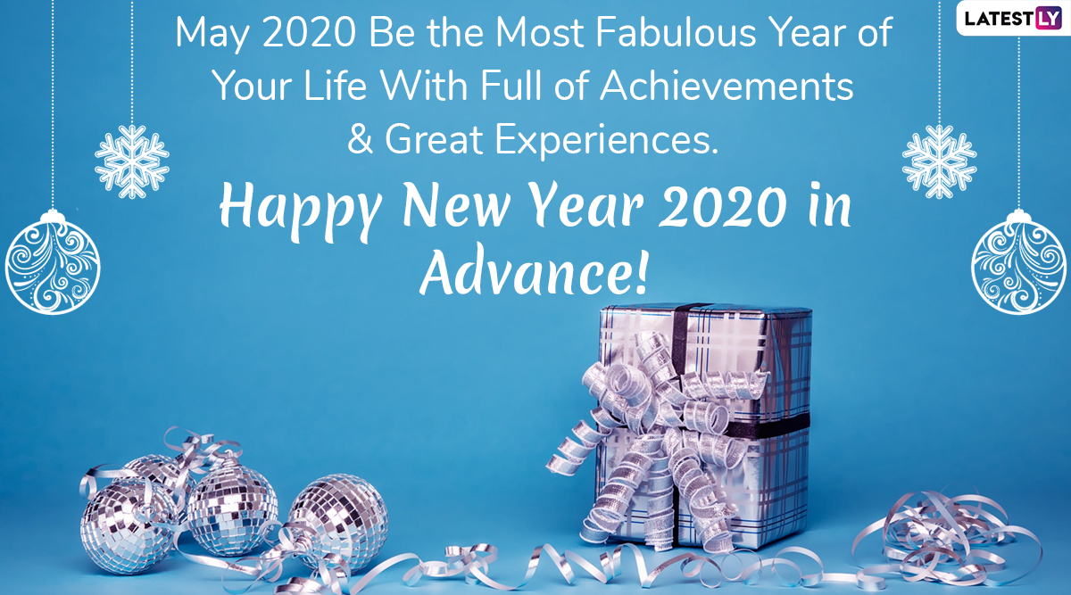 Happy New Year 2020 Greetings & HNY Wishes Images ...