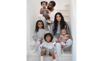 Kim Kardashian Accused of Photoshopping Kids in Family Christmas Card 2019
