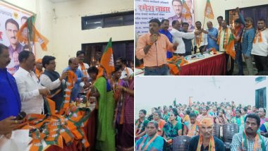 Maharashtra: Around 400 Shiv Sena Workers Join BJP at Event in Dharavi, Mumbai