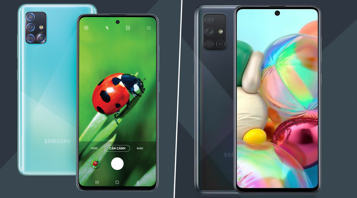 Samsung Galaxy A51, Galaxy A71 With Punch-Hole Displays & Quad Cameras Officially Launched: Check Prices, Features & Specifications