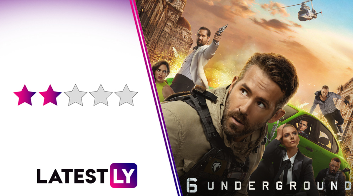 6 Underground Movie Review: Michel Bay's Netflix Action Thriller Starring Ryan Reynolds Is Loaded With Action But the Wafer-Thin Plot Makes It a Borefest!