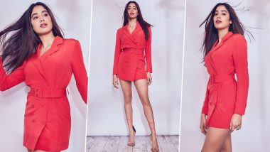 Janhvi Kapoor's Red Outfit is Giving us all the Christmas Vibes and all We Can Say is Ho Ho Ho!