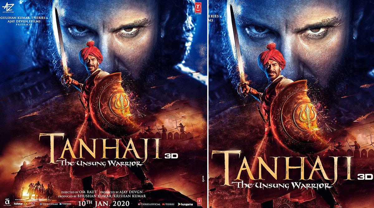 Tanhaji: The Unsung Warrior Box Collection Day 1: Ajay Devgn and Saif Ali Khan Starrer Earn Rs 15.10 Crore on the Opening Day