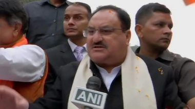 JP Nadda, BJP Working President, Carries Out Rally in Support of CAA in Kolkata, Says 'Mamata Banerjee is Doing Vote-Bank Politics'