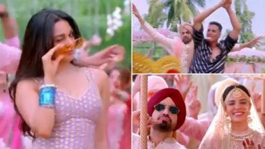 Good Newwz Song Sauda Khara Khara: Akshay Kumar, Diljit Dosanjh And Kiara Advani Are Ready With A Bhangra Comeback (Watch Video)