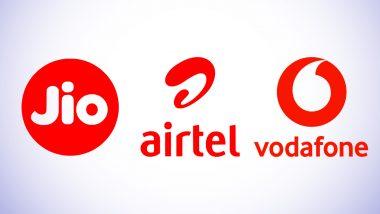 Vodafone Idea, Airtel Lose Over 59 Lakh Mobile Users in June 2020; Jio Adds 45 Lakh: Trai Data